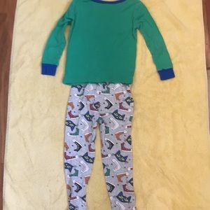 NEW Boys PETE The CAT Pajama Set Toddler Size Sz 4T NWT